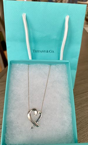 Tiffany & Co. large Paloma Picasso heart 925 necklace for Sale in Tustin, CA