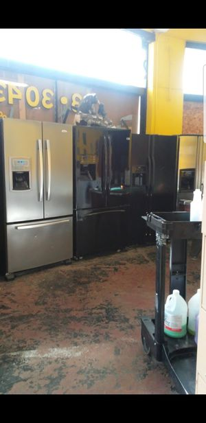 french door refrigerator with warranty for Sale in East Peoria, IL