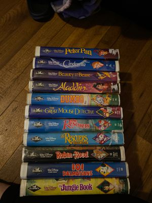 Disney's Black Diamond Addition VHS Tapes for Sale in Goodyear, AZ