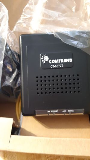 Comtrend CT-5072T for Sale in Waynesboro, VA