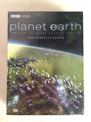 BBC Planet Earth complete series - unopened for Sale in San Jose, CA