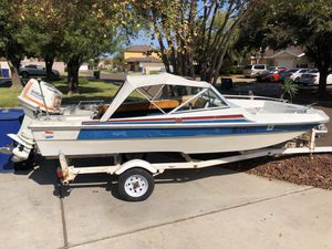 85hp Suzuki thundercraft SS 14.8ft for Sale in Laredo, TX
