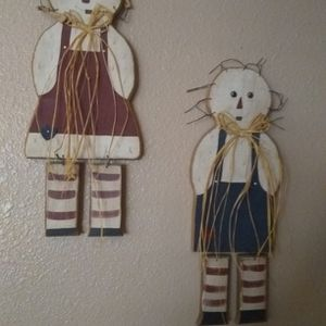 Handmade Wooden Raggedy Ann And Andy. Read Description for Sale in Phoenix, AZ