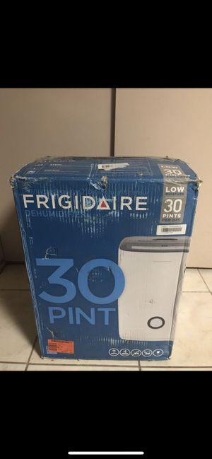 Frigidaire 30 pint dehumidifier for Sale in Dearborn, MI