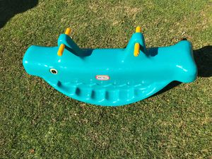 kids teeter totter toy FIRM PRICE NO DELIVERY CASH OR TRADE FOR BABY FORMULA for Sale in Los Angeles, CA
