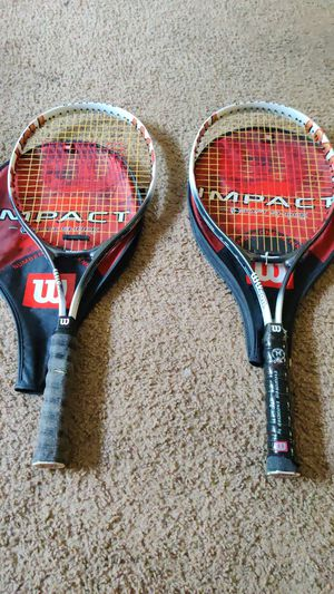 2 Wilson Tennis Rackets for Sale in Brandon, FL