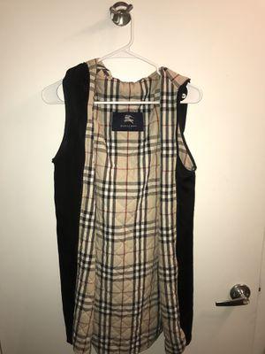 Small Burberry raincoat vest for Sale in Dallas, TX