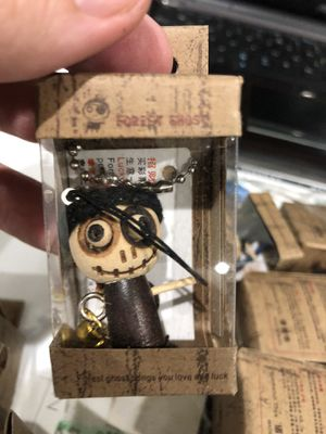 Forest Ghost Voodoo Doll Keychain for Sale in Sunrise, FL