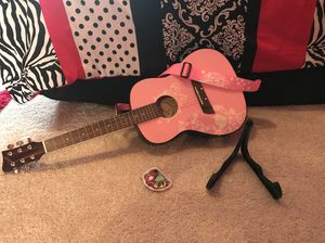 Youth Pink Guitar for Sale in Sunbury, OH