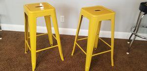 29 inch metal bar stools for Sale in Elk Grove, CA