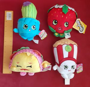 Shopkins plush new plushies $17 for Sale in Lawndale, CA