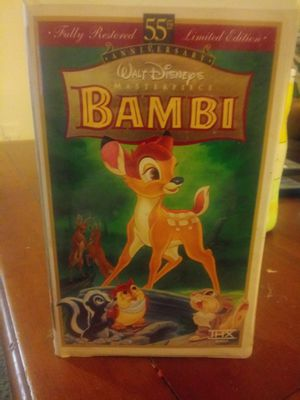 Bambi VHS for Sale in Bancroft, KY