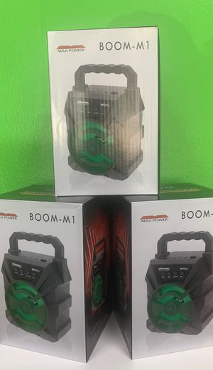 Boom M-1 Bluetooth speaker with dancing LED! for Sale in Victoria, TX