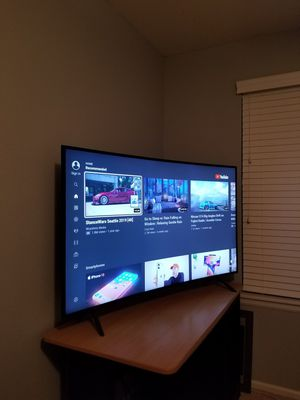 Samsung 55 Inch Curved 4k HDR UHD TV for Sale in Aurora, CO