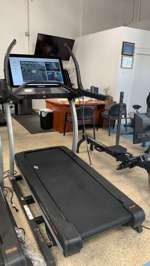 Get the best price on our NordicTrack X32i incline trainer treadmill for Sale in Palos Verdes Estates, CA