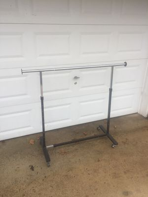 Lowes Clothes Racks (4) metal extendable to 6 feet for Sale in Waynesville, MO