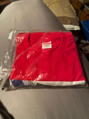 Large Supreme red bible tee for Sale in Elgin, SC