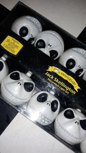 Jack Skellington Decorative Lights Set for Sale in Colton, CA
