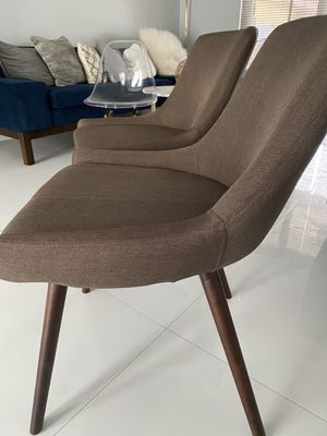 West Elm upholstered Dining Chairs for Sale in Hollywood, FL
