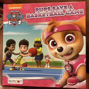 Paw patrol pups save a basketball game book for Sale in San Marino, CA