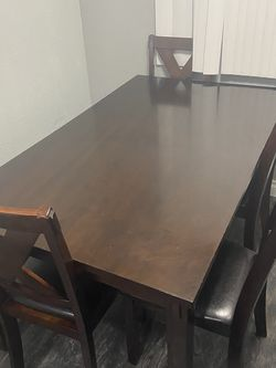 Dining Set-4 Chairs, Table, and Bench for Sale in La Mesa,  CA