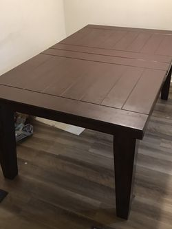 Dining Room Table Real Wood for Sale in Los Angeles,  CA