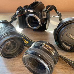 Nikon DSLR Lenses and extra camera body for Sale in Gilroy, CA