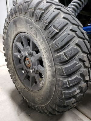 RzR 1000 wheels and tires for Sale in Hesperia, CA