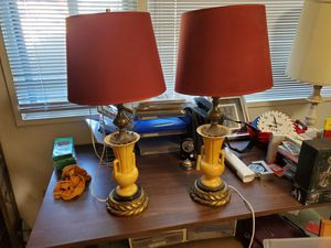 set of antique vintage lamps for Sale in Chino Hills, CA