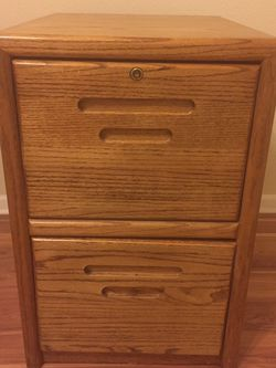 Oak Filing Cabinets for Sale in Ontario,  CA