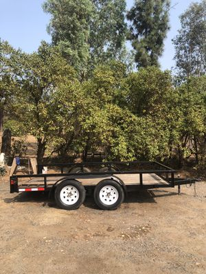 12' Flatbed Trailer for Sale in Valley Center, CA