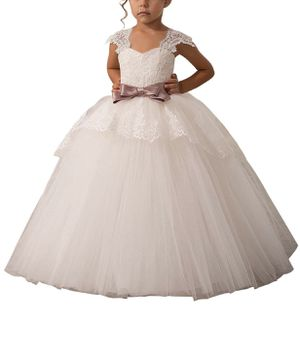 Flower girl dress and petticoat for Sale in Rixeyville, VA