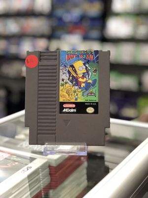The Simpsons: Bart vs. The World - Retro for Sale in San Bernardino, CA
