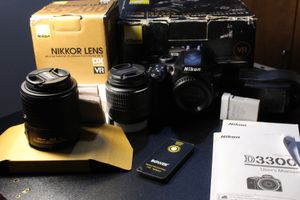 Nikon D3300, Two Lenses, Remote for Sale in Beaverton, OR