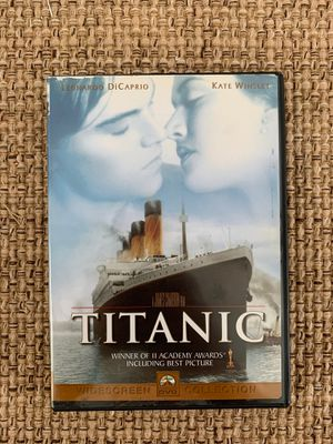 James Cameron's Titanic DVD Widescreen Love story movie for Sale in Hazlet, NJ