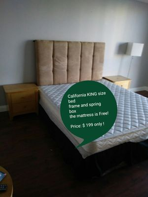 Bedroom set *Cali KING size * ( price on the picture! ) for Sale in Las Vegas, NV