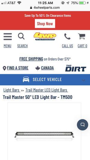 """LED Light Bar 50"""" for Sale in Yorba Linda, CA"""