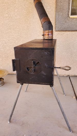 Wood Stove for Tiny Home or RV with Accessories for Sale in Las Vegas, NV