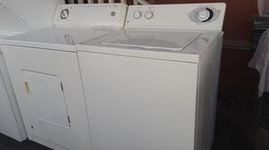 Washer and gas dryer super capacity working perfectly for Sale in Paramount, CA