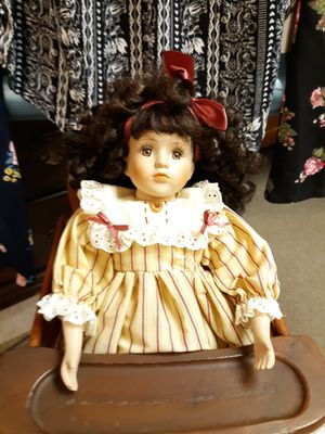 Porcelain doll,Steins, costumes, furniture, antiques for Sale in Beach Lake, PA