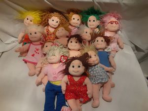 Lot Of 14 Vintage Ty Beanie Kids Includes Sweetie Sugar Luvie Cookie And Others for Sale in Atlanta, GA