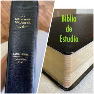 Biblia de estudio Reina Valera 1960 for Sale in Melbourne Village, FL