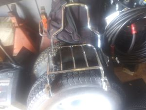 Road King backrest with rack for Sale in Diamond Bar, CA