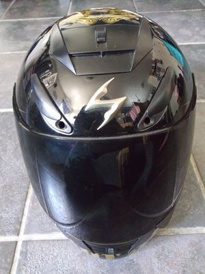 Scorpion exo 400 motorcycle helmet dark shield for Sale in Torrance, CA