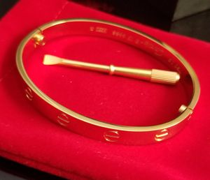 Gold Love Bracelet size 19cm Comes with Logo Box and Bag for Sale in Aspen Hill, MD