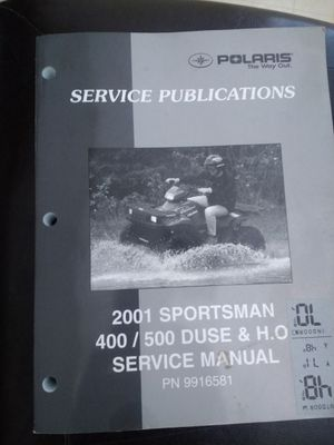 Polaris Sportsman Service Manual for Sale in Payson, AZ