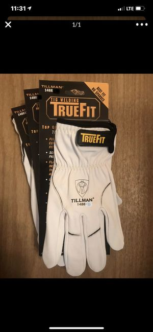 TIG welding gloves size L 3prs for Sale in Long Beach, CA