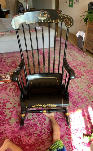 Antique Wooden Rocking Chair for Sale in Santa Monica, CA
