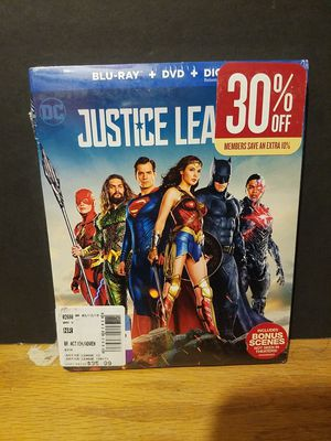 Justice League blu ray dvd combo ( new) for Sale in Phoenix, AZ