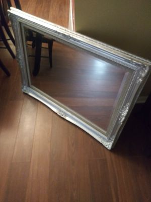 Silver Framed Mirror for Sale in Baltimore, MD